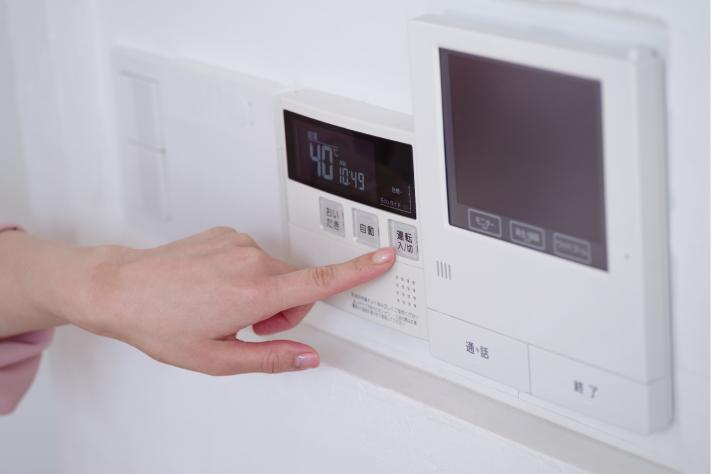 洗い物で使うガスの給湯器